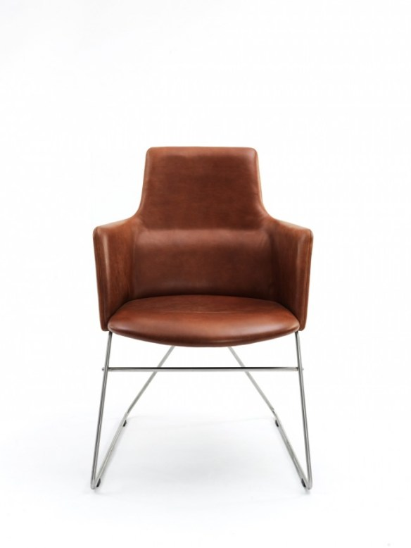 Fortuna low back V base by Niels Gammelgaard3 650x866 Fortuna chair   Niels Gammelgaard
