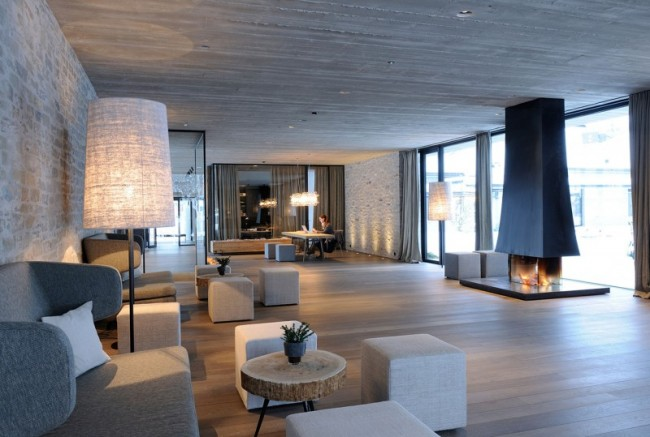 Hotel Wiesergut by Gogl Architects 1 650x437 Stunning Hotel Wiesergut is a Haven in Winter