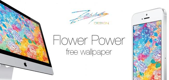 flower power facebook promo 650x310 Flower Power Wallpaper