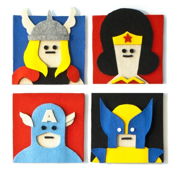 fuzzy felt artwork Fuzzy Felt Artwork by Jacopo Rosati