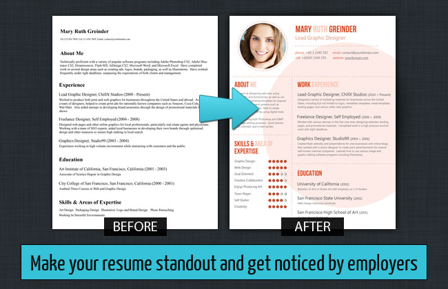 free resume templates that stand out resume sample