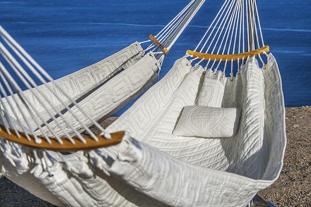 A Triple Hammock Designed For Lounging