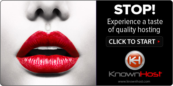 1. KnownHost1 10 Most Wanted Web Hosting Companies