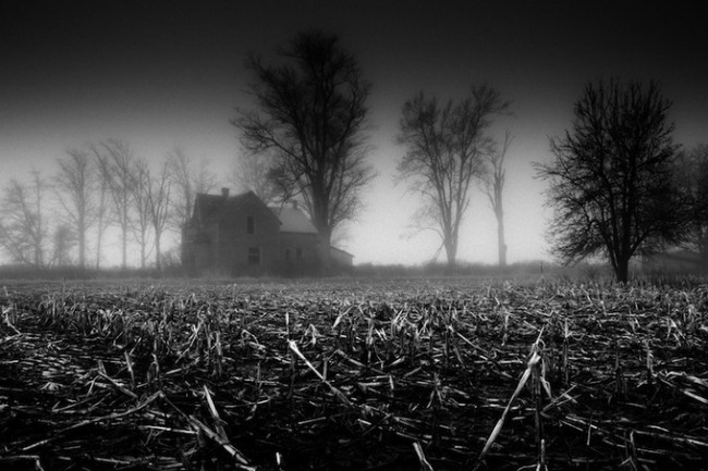 Derek Toye7 650x433 Black and White Landscapes by Derek Toye