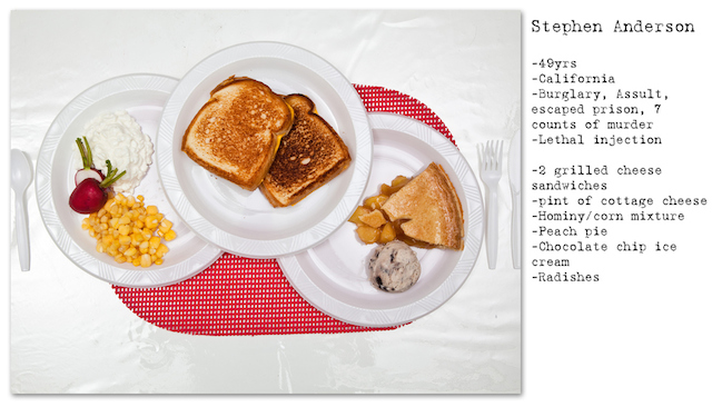 Last Meal photos 05 Death Row Inmates Last Meals by Henry Hargreaves