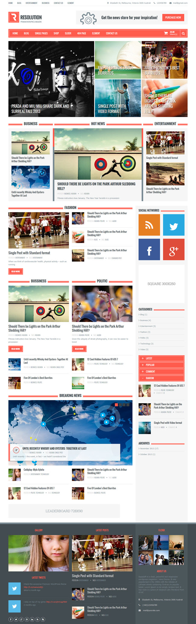 1173 10 Best Free WordPress Themes for April 2014