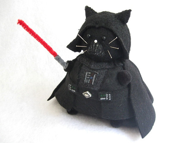2107 Sew Awesome: Fun Sci Fi Kitty Pincushions