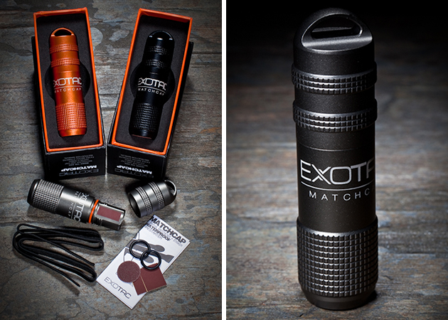 match 4 Keep Matches Dry With Exotac Waterproof Case