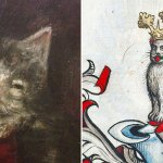 Ugly Medieval Paintings Of Cats