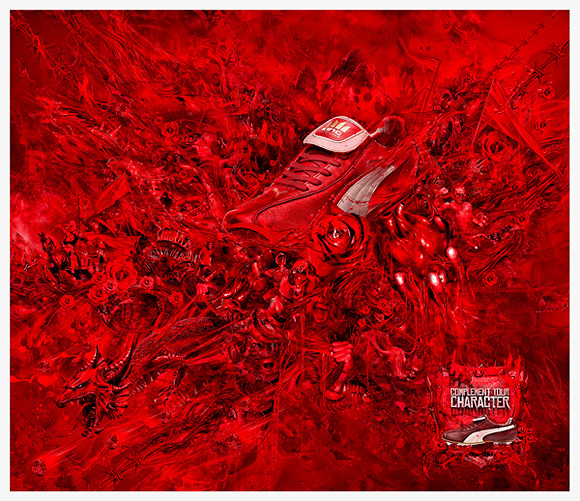 Puma Ad by Dhanank Pambayun