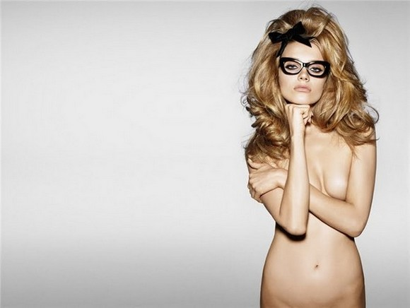 Maria Jagodzinska shot by Tom Ford himself for his eyewear collection