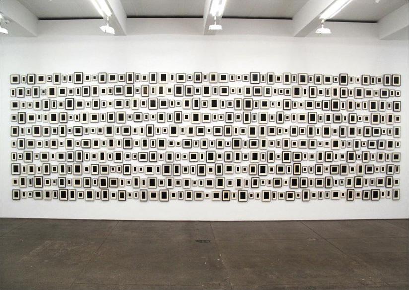 """""""Plaster Surrogates"""" by Allan McCollum"""