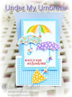 """Under my umbrella stamp set, pleased as punch designer series paper, umbrella builder punch, stitched so sweetly dies, rectangle stitched framelits, 5/8"""" whisper white flax ribbon, real red rhinestones, silicone craft mat, white embossing powder, versamark ink pad, heat tool, watercolor paper, crumb cake cardstock, tear & tape, 1"""" circle punch, simply scored, paper trimmer, Paper Snips, Take Your Pick Tool, Stampin' Sponges, White Chalk Marker, Stitched Rectangle Dies, sip & celebrate dies, Grid Paper, stampin sponge, perfectly plaid Stamp set, truck ride dies, shimmery crystal effects, braided linen ribbon, to every season stamp set, every season punch, gold foil paper, shaded spruce cardstock, cherry cobbler cardstock, wrapped in plaid 6 x 6 designer series paper, thick whisper cardstock, silicone craft mat, grid paper, polka dot tulle ribbon, come to gather designer series paper, splitcoaststampers, come painters, blender pens, clear wink of stella, stampin' trimmer, very vanilla cardstock, sponge daubers, dimensionals, paper snips, multipurpose liquid glue take your pick, SNAIL adhesive, stampin' up! Demonstrator, how to, diy handmade, homemade, rubber stamping, greeting card, crafts cardmaking to gathered ribbon combo pack, Tags & More Accessory kit, black stampin dimensionals, detailed trio punch, basic black cardstock, old olive classic ink, memento tuxedo black ink, black stazon ink, thick whisper white cardstock, whisper white cardstock, stamparatus, aqua painters"""