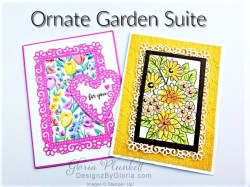 """Ornate garden stamp set, ornate layers dies, apple builder punch, autumn eaves punch pack, plaid tidings designer series paper, stitched rectangle dies, ornate thanks stamp set, hammered metal 3d embossing folder, poppy moments dies, jar of flowers stamp set, layering square dies, Playful alphabet dies, gather together stamp set, pet dies, whale builder punch, playful pets designer series paper, whale of a time dsp, 3/8"""" sheer ribbon, whale of a time sequins, Gold hoop embellishments, free as a bird stamp set, magenta madness cardstock, cinnamon cider cardstock, just jade cardstock, magenta madness cardstock, jar punch, ornate garden specialty designer series paper, itty bitty greetings, pear pizzazz cardstock, seaside spray cardstock, pressed petals specialty designer series paper, botanical prints product medley, detailed band dies, ornate layers dies, Ornate style stamp set, ornate garden specialty designer series paper, ornate layers dies, grapefruit grove cardstock, gold glitter enamel dots, coastal weave 3d embossing folder, basket weave embossing folder, a wish for everything stamp set, word wishes dies, ornate layers dies, ornate floral 3d embossing folder, ornate garden ribbon, ornate garden specialty designer series paper, best dressed 6"""" x 6"""" dsp, pear pizzazz classic ink, sponge daubers, peaceful moments stamp set, subtles embossing folder, rectangle stitched dies, saddle brown stazon ink, blushing bride cardstock, from my heart faceted gems, pear pizzazz classic ink, pleased as punch designer series paper, granny apple green cardstock, basic black cardstock, gorgeous grape cardstock, rococo rose light and dark stampin' blends, granny apple green dark and light stampin' blends, watercolor pencils, blender pen, petal pink cardstock, stitched so sweetly dies, rectangle stitched framelits, 5/8"""" whisper white flax ribbon, real red rhinestones, silicone craft mat, white embossing powder, versamark ink pad, heat tool, watercolor paper, crumb cake cardstock, te"""