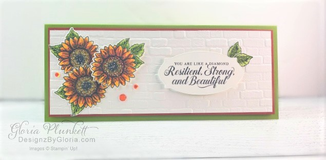 """Sunflower dies, Celebrate sunflower stamp set, heartwarming hugs designer series paper, poinsettia place designer series paper, poinsettia petals designer series paper, slimline, tall, apple builder punch,  autumn eaves punch pack, plaid tidings designer series paper, stitched rectangle dies, ornate thanks stamp set, hammered metal 3d embossing folder, poppy moments dies, jar of flowers stamp set, layering square dies, Playful alphabet dies, gather together stamp set, pet dies, whale builder punch, playful pets designer series paper, whale of a time dsp, 3/8"""" sheer ribbon, whale of a time sequins, Gold hoop embellishments, free as a bird stamp set, magenta madness cardstock, cinnamon cider cardstock, just jade cardstock, magenta madness cardstock, jar punch, ornate garden specialty designer series paper, itty bitty greetings, pear pizzazz cardstock, seaside spray cardstock, pressed petals specialty designer series paper, botanical prints product medley, detailed band dies, ornate layers dies, Ornate style stamp set, ornate garden specialty designer series paper, ornate layers dies, grapefruit grove cardstock, gold glitter enamel dots, coastal weave 3d embossing folder, basket weave embossing folder, a wish for everything stamp set, word wishes dies, ornate layers dies, ornate floral 3d embossing folder, ornate garden ribbon, ornate garden specialty designer series paper, best dressed 6"""" x 6"""" dsp, pear pizzazz classic ink, sponge daubers, peaceful moments stamp set, subtles embossing folder, rectangle stitched dies, saddle brown stazon ink, blushing bride cardstock, from my heart faceted gems, pear pizzazz classic ink, pleased as punch designer series paper, granny apple green cardstock, basic black cardstock, gorgeous grape cardstock, rococo rose light and dark stampin' blends, granny apple green dark and light stampin' blends, watercolor pencils, blender pen, petal pink cardstock, stitched so sweetly dies, rectangle stitched framelits, 5/8"""" whisper white flax ribbo"""