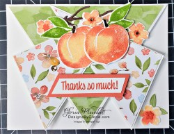 """Sweet as a peach stamp set, You're a peach designer series paper, peach dies, soft pastels assortment, layering circles, vellum cardstock, slimline, tall, apple builder punch, stitched rectangle dies, ornate thanks stamp set, poppy moments dies, jar of flowers stamp set, layering square dies, fabulous floral dies, gather together stamp set, 3/8"""" sheer ribbon, free as a bird stamp set, magenta madness cardstock, cinnamon cider cardstock, just jade cardstock, magenta madness cardstock, jar punch, ornate garden specialty designer series paper, itty bitty greetings, pear pizzazz cardstock, seaside spray cardstock, pressed petals specialty designer series paper, botanical prints product medley, detailed band dies, ornate layers dies, Ornate style stamp set, ornate garden specialty designer series paper, ornate layers dies, grapefruit grove cardstock, gold glitter enamel dots, coastal weave 3d embossing folder, basket weave embossing folder, a wish for everything stamp set, word wishes dies, ornate layers dies, ornate floral 3d embossing folder, ornate garden ribbon, ornate garden specialty designer series paper, best dressed 6"""" x 6"""" dsp, pear pizzazz classic ink, sponge daubers, peaceful moments stamp set, subtles embossing folder, rectangle stitched dies, saddle brown stazon ink, blushing bride cardstock, from my heart faceted gems, pear pizzazz classic ink, pleased as punch designer series paper, granny apple green cardstock, basic black cardstock, gorgeous grape cardstock, rococo rose light and dark stampin' blends, granny apple green dark and light stampin' blends, watercolor pencils, blender pen, petal pink cardstock, stitched so sweetly dies, rectangle stitched framelits, 5/8"""" whisper white flax ribbon, real red rhinestones, silicone craft mat, white embossing powder, versamark ink pad, heat tool, watercolor paper, crumb cake cardstock, tear & tape, 1"""" circle punch, simply scored, paper trimmer, Paper Snips, Take Your Pick Tool, Stampin' Sponges, White Chalk Marker"""