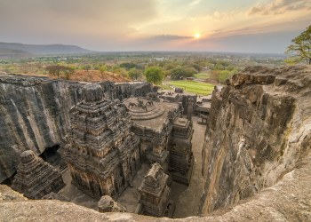 kailasa temple ellora caves 1 The Myth and Facts of Kailash Temple
