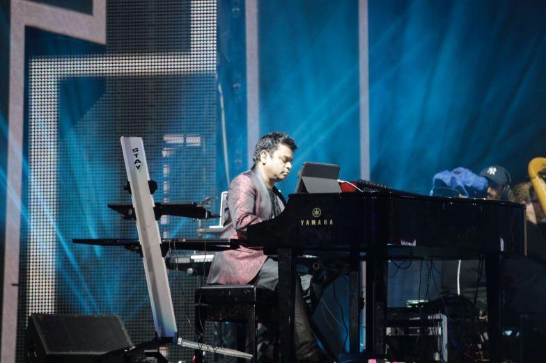 A.R. Rahman at IIFA Rocks