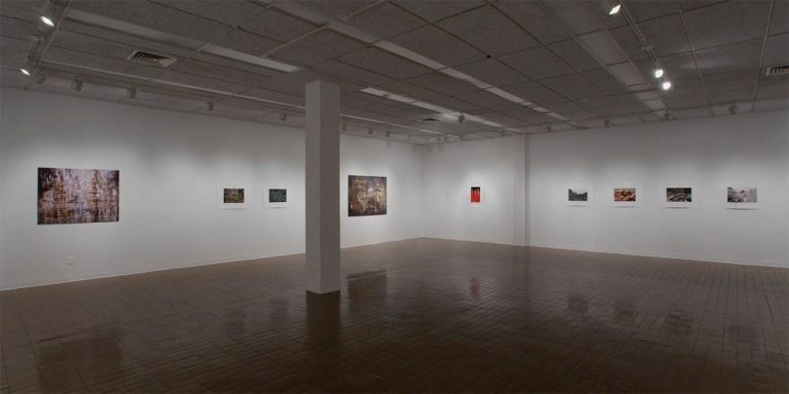 «Le grand voyage», Plein sud, centre d'exposition en art actuel à Longueuil, Longueuil, 2007 (photo: Guy L'Heureux)