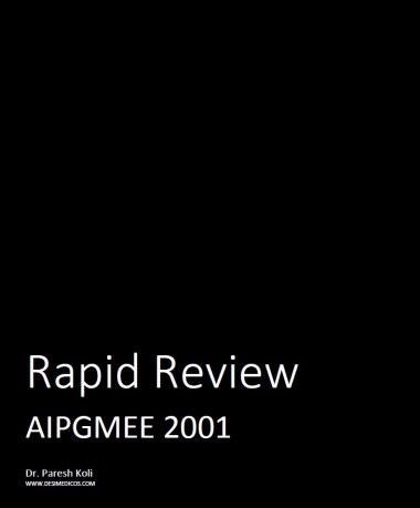 AIPGMEE 2001 Rapid Review cover