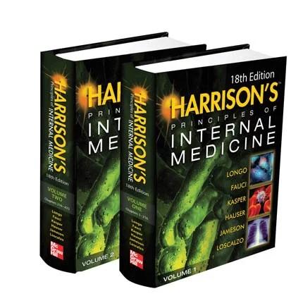Harrison's Principles of Internal Medicine, 18th Edition cover