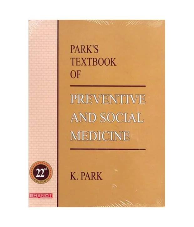 Park's Textbook of Prentive and Social Medicine 22e Cover