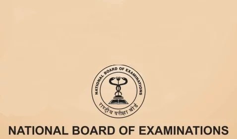 NBE National Board of Examiantions Logo