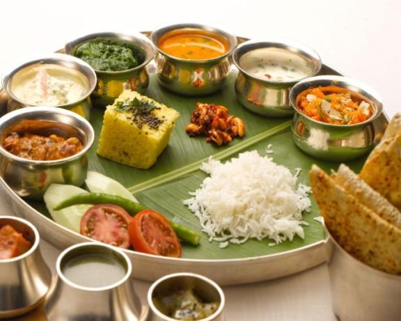 indian thali desinema