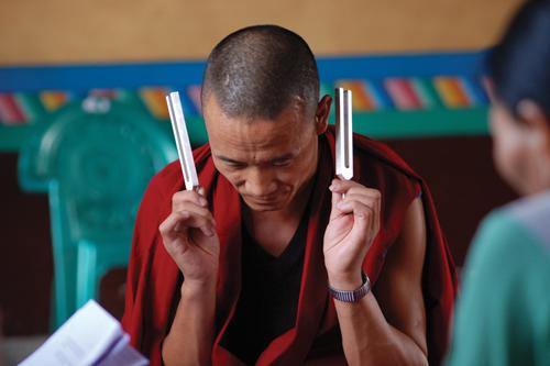 hearing sense temple