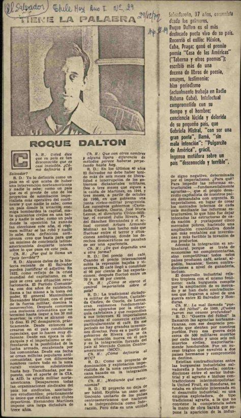 Roque Dalton CaMeNa 1