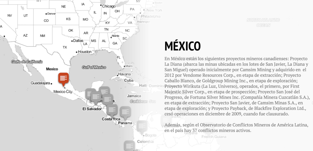 minería canadiense en México