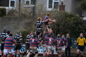 Lineout from afar