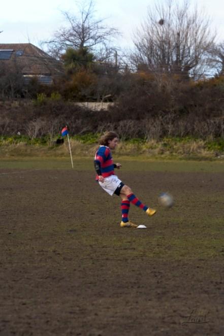 Kicking for goal