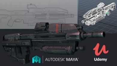 MAYA MASTER CLASSES : Asset Modeling for Game & Animation