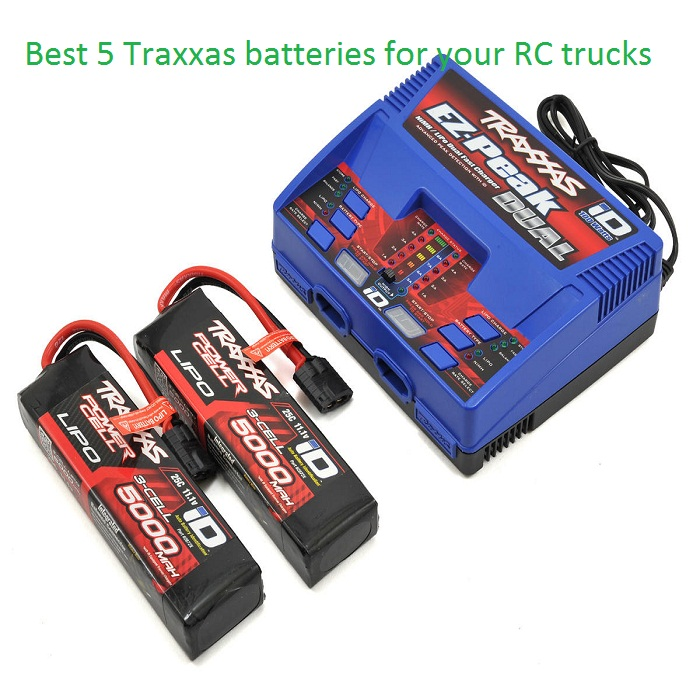 Best 5 Traxxas batteries for your RC trucks