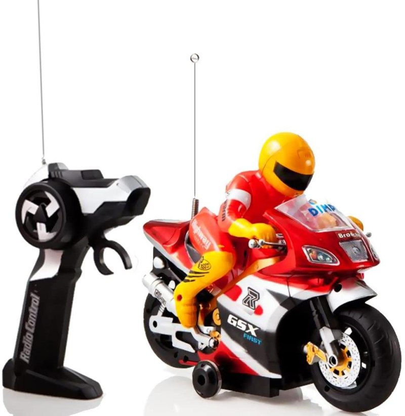 Electric Radio Remote Controlled Racing Motorcycle