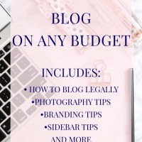 How to Have a Professional Blog on Any Budget