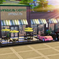 Sims 4: Starbucks Stop Motion & Download