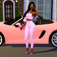 Sims 4: Sugar Baby CAS+Lookbook