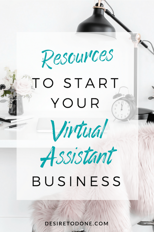THINKING ABOUT STARTING A VIRTUAL ASSISTANT BUSINESS? I've gathered some of my top resources to help you on your journey! Take a look!