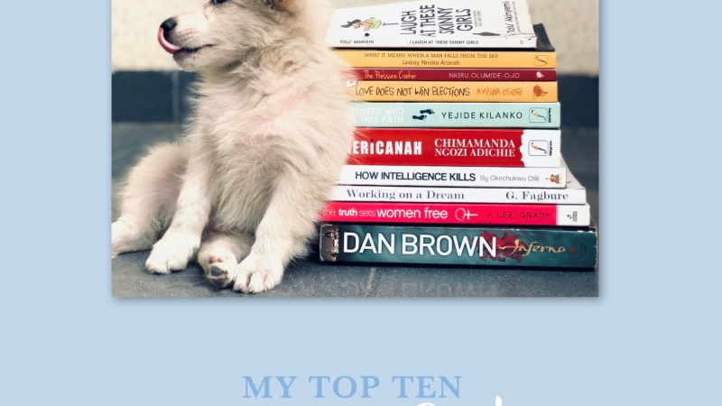 My Top 10 Paperback Reads In 2018