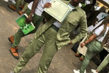 NYSC Corps member wearing uniform. This post shares three lessons she learnt from her year of NYSC