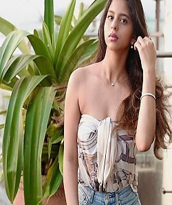 Suhana Khan Shares Party Photo With Friends, Looks Hot In Tube Top_Pic Credit Google