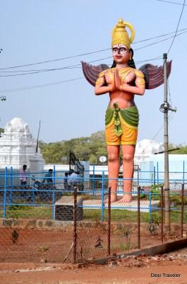 Garuda outside Anantha Padmanabha Swamy Temple