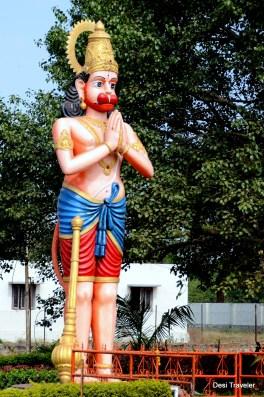 Hanuman At the Gate Of Vikarabad Temple