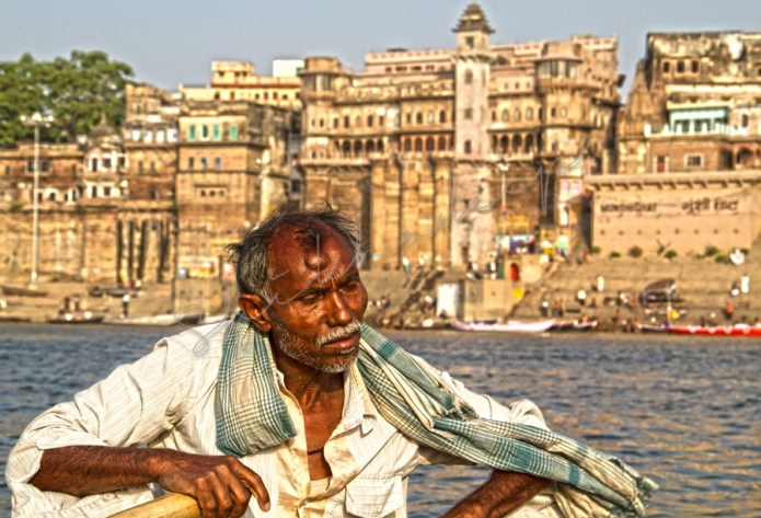 Portrait of a Boat man in Varanasi