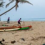 Beach Cricket in Pondicherry