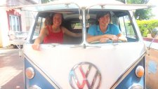 Le Road Trip In A Hippie Volkswagen Kombi