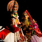 Kathakali Playing Gods in God's Own Country Travel Tuesday Picture