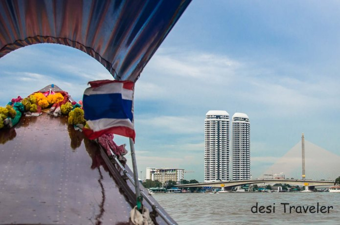Boat Cruise Chao Phraya River Bangkok